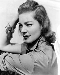 Bacall-look