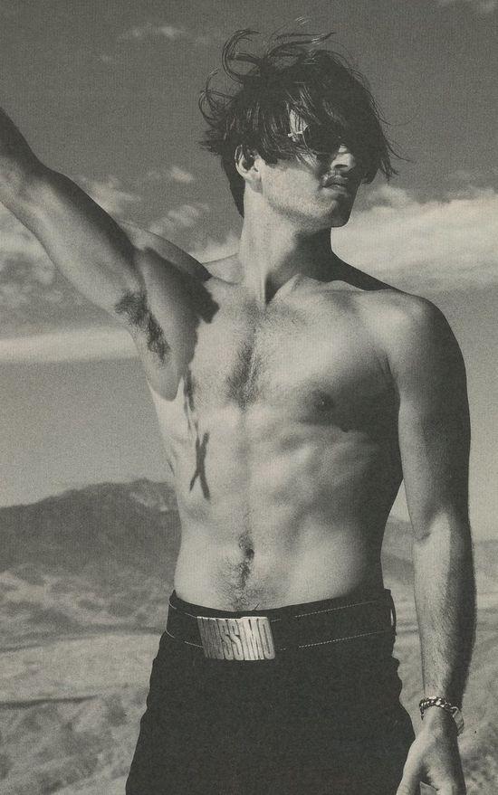 Massimo-shirtless