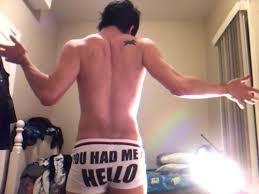 Underwear ass