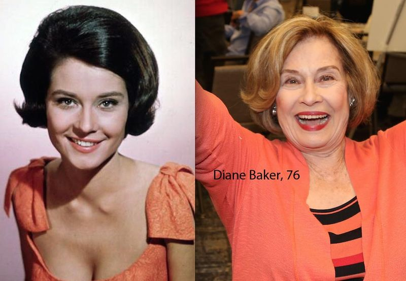 Diane-Baker-then-now