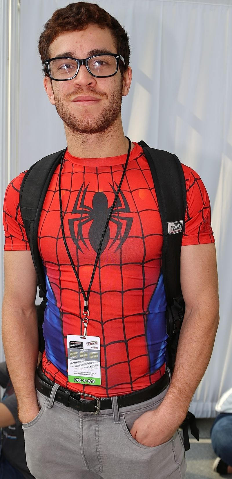Tight-Spiderman-shirt-Comic-Con
