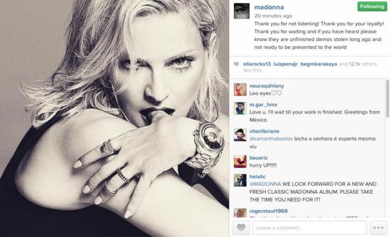 Madonna-leaks