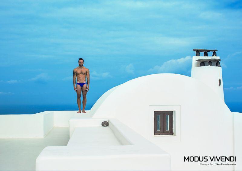 Modus Vivendi swimwear - classic line brief 02