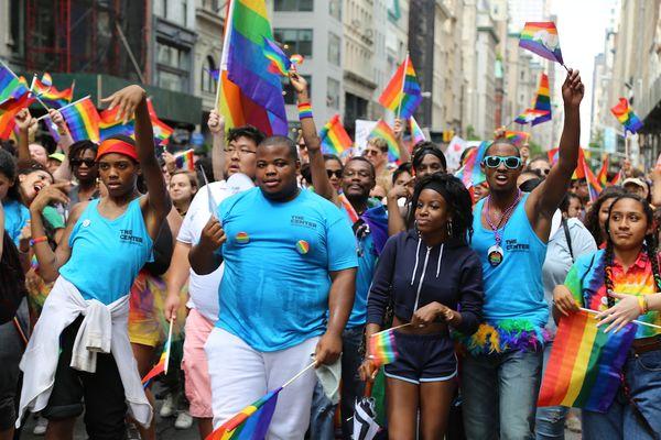 Gay-pride-march-NYC-Matthew-Rettenmund