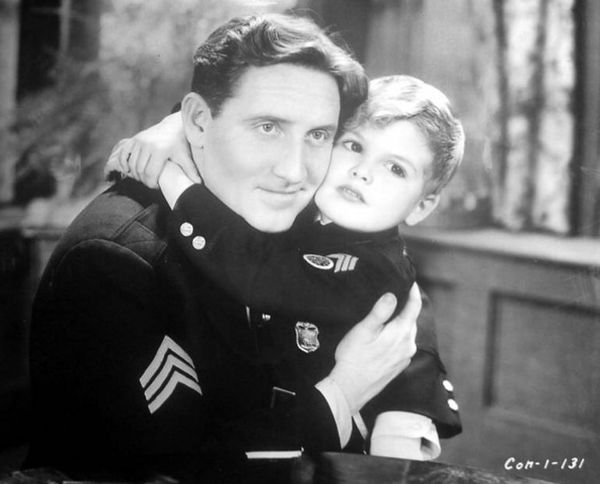Dickie-Moore-with-Spencer-Tracy-in-Disorderly-Conduct-1932
