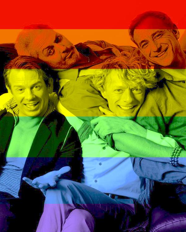ODNT Rainbow Selfie