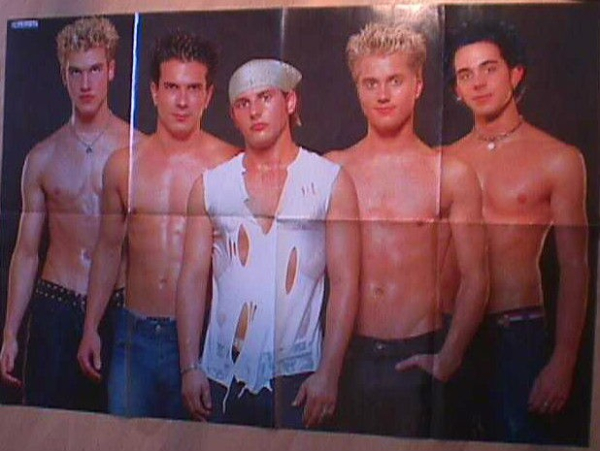 155908493_german-poster-michael-johnson-natural-shirtless-boy-band
