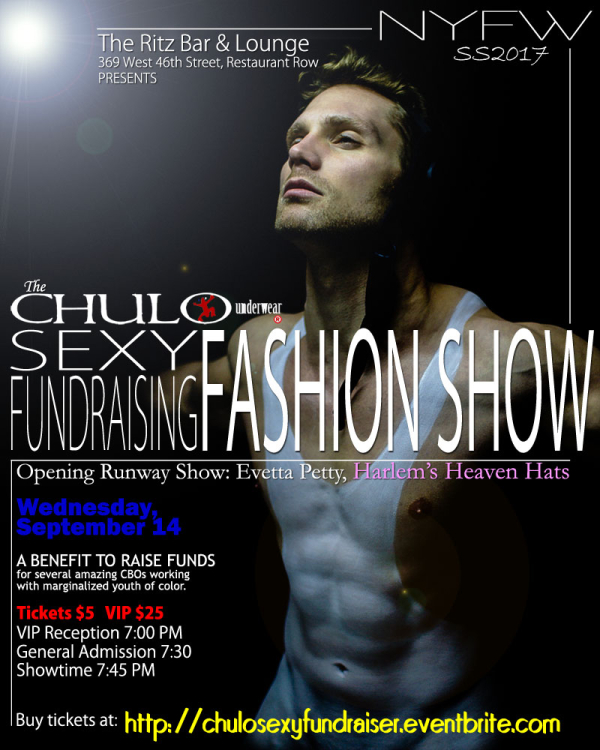 CHULO Underwear SS2017 NYFW Sexy Fundraiser Promo 04  web