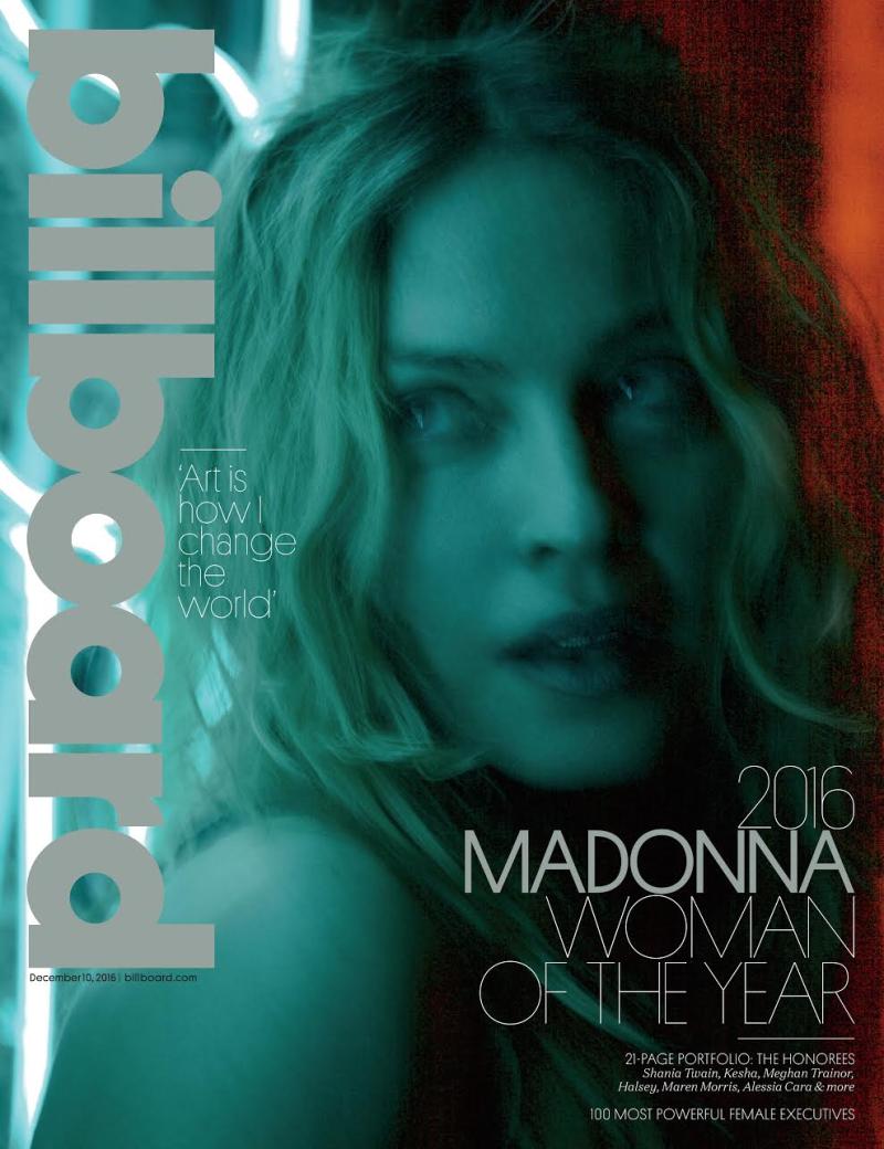 Madonna Billboard