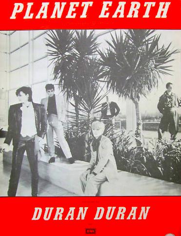 Planet_earth_sheet_music_book_duran_duran_1981_rare