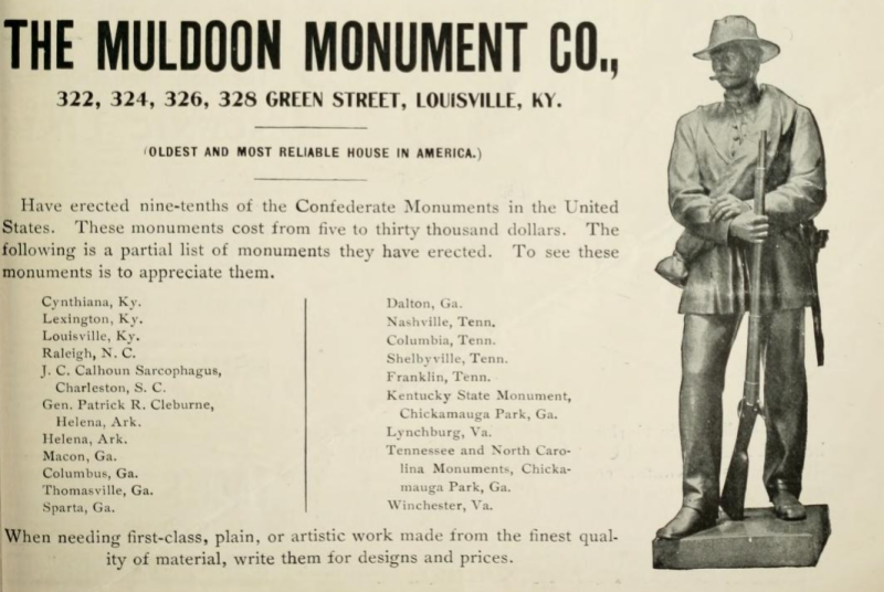 Monument-ad-confederate-veteran-1900
