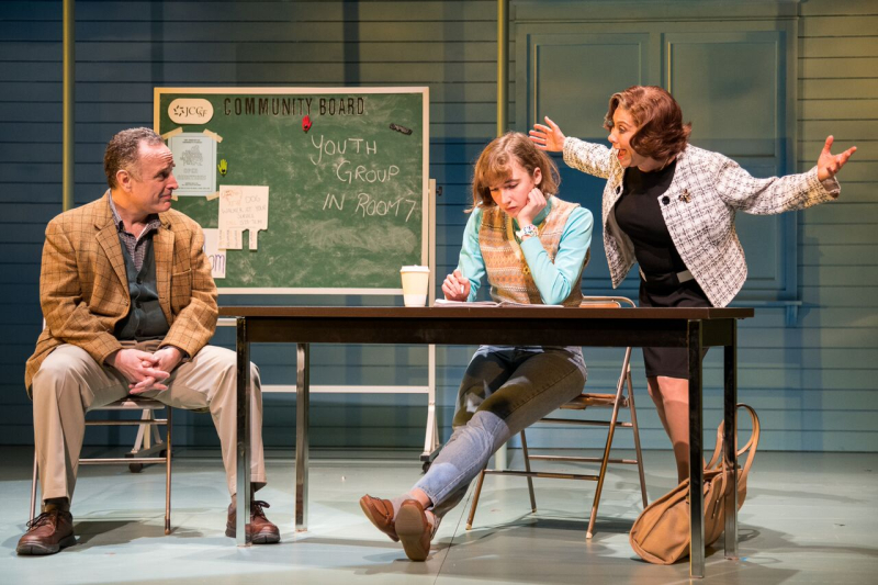 Harry (Adam Heller)  Barbara (Julia Knitel) and Frannie (Cheryl Stern). Photo by Russ Rowland_preview