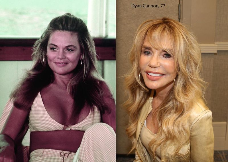 Dyan-Cannon-then-now
