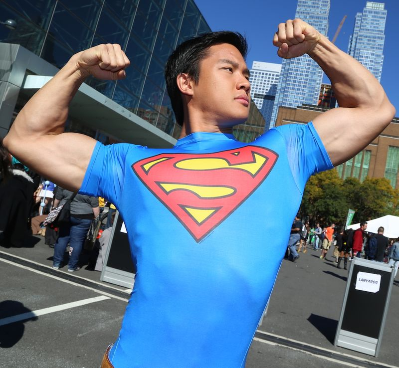 Superman-hot-muscles-Comic-Con