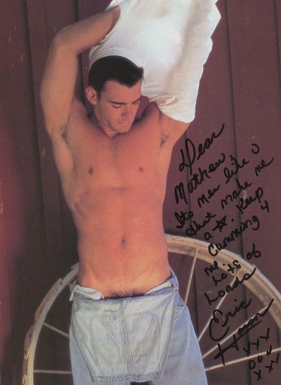 Autograph-Eric Hanson