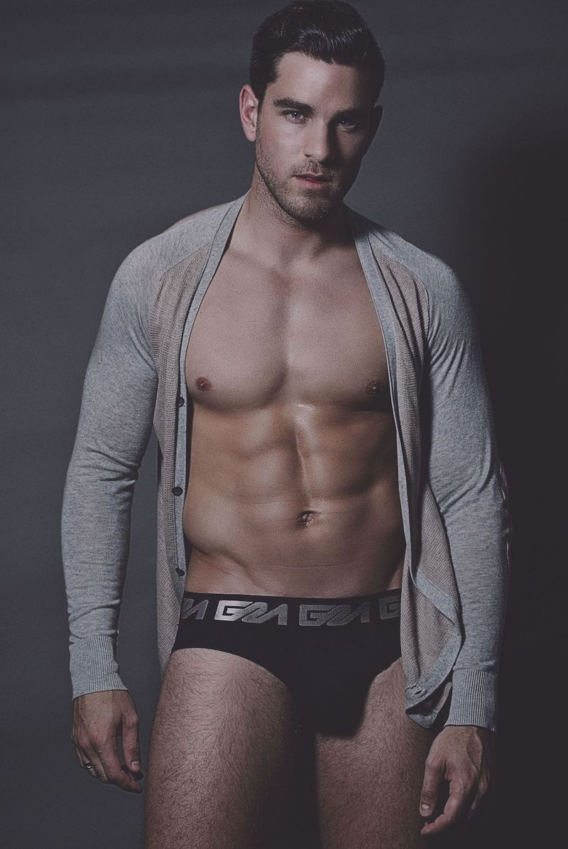 Model BENI D - Photogrpahy IAN CHANG - Garcon Model Underwear - 2
