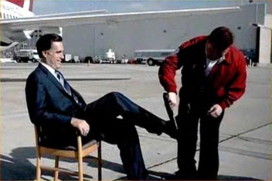 Romney-tarmac