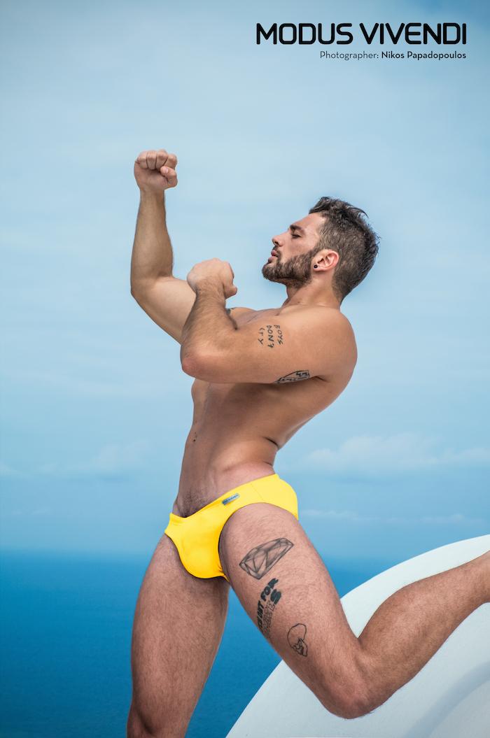 Modus Vivendi swimwear - classic line brief 01