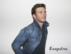 Esquire Sept issue_Scott Eastwood photo