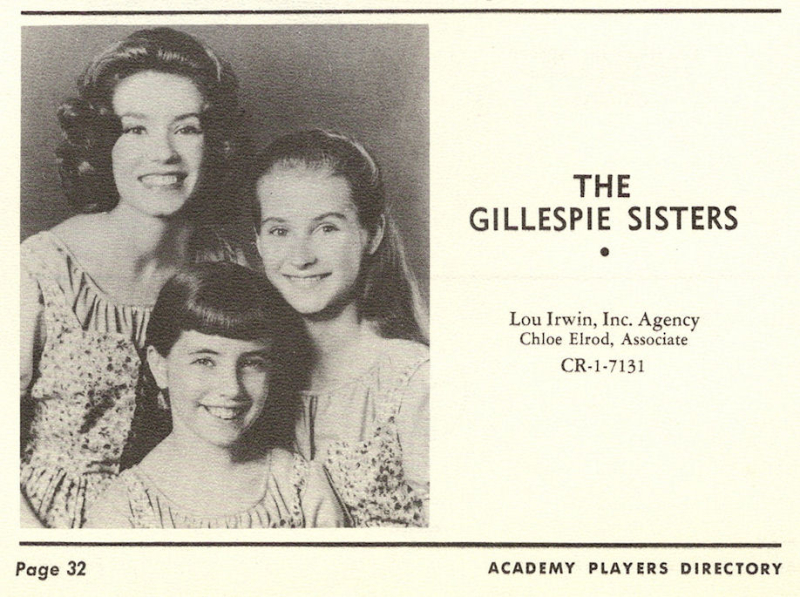 Gillespiesisters1963