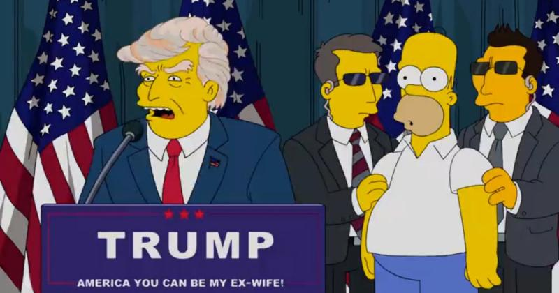 Simpsons-Trump