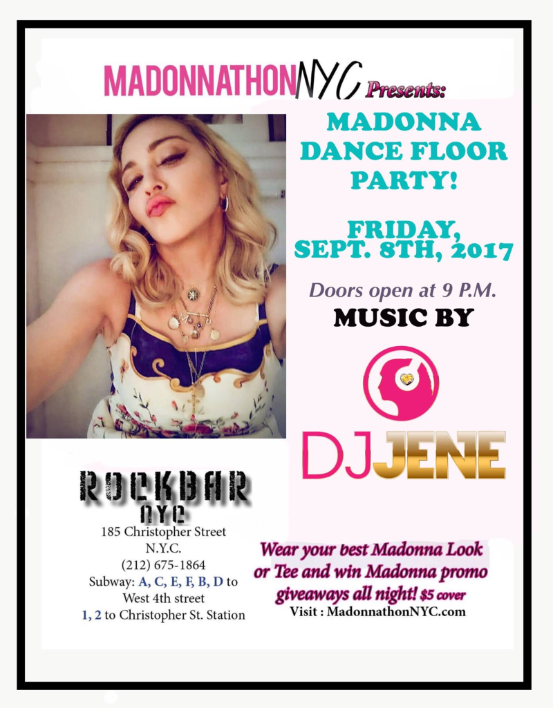 Madonna party