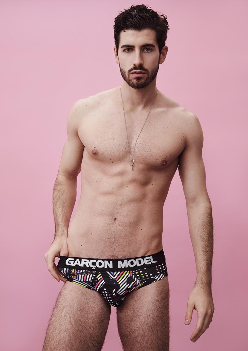 Riccardo model for garcon model underwear Galaxy print_01