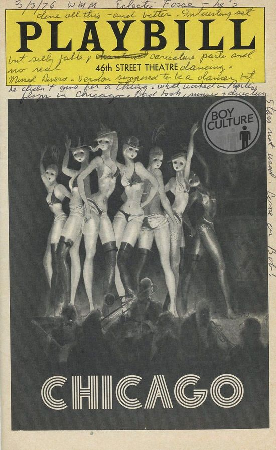 Playbill-Chicago copy