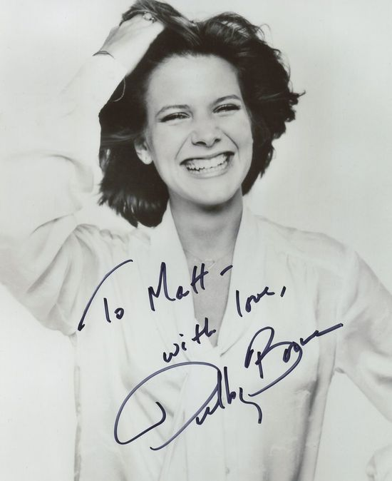 Debby-Boone-autograph