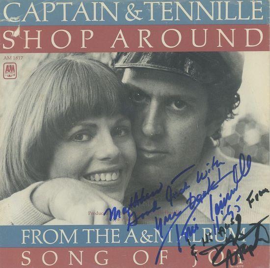 Autograph Captain Tennille