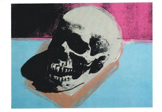 Andy Warhol Postcard