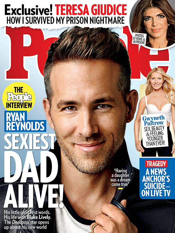 Ryan Reynolds People Magazine