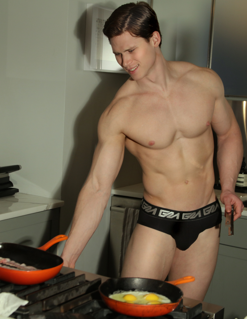 Model Matt Waters photogrpahed by Marco Ovando for Garçon Model underwear 5
