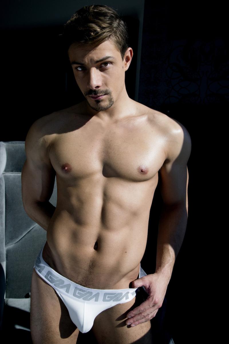 Carter Dane porn actor from Cocky Boys for Garçon Model jockstraps-5