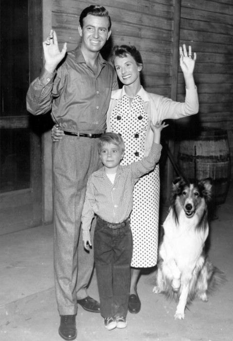 Lassie_1957_cast_photo