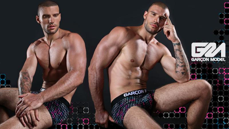 Garcon Model Men Underwear Galaxy Collection 6