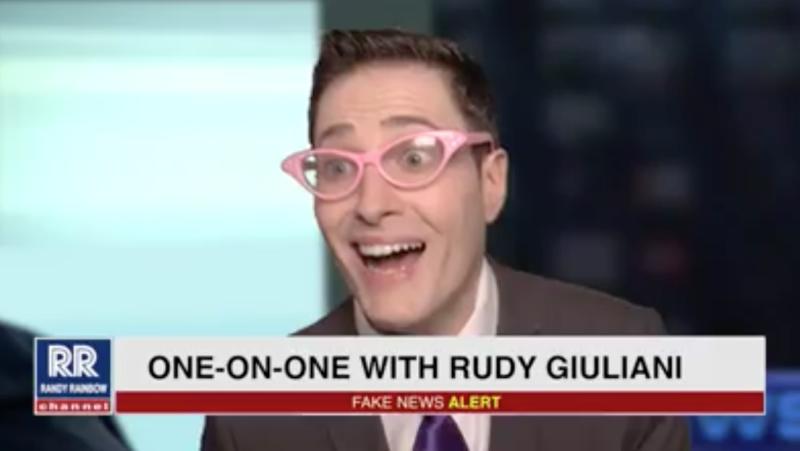 Randy Rainbow Rudy Giuliani