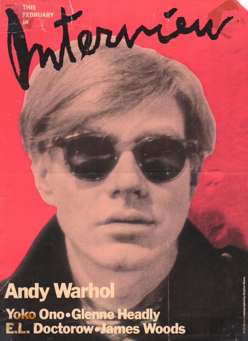 Andy Warhold Interview Matthew Rettenmund Collection
