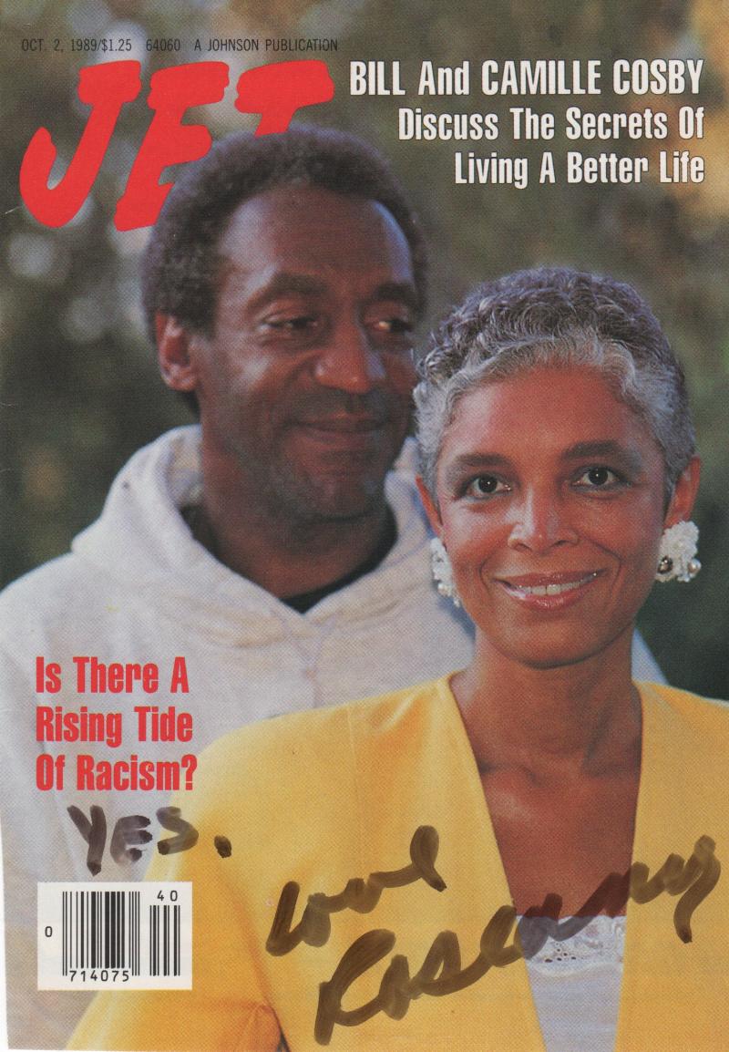 Roseanne Barr racism Bill Cosby