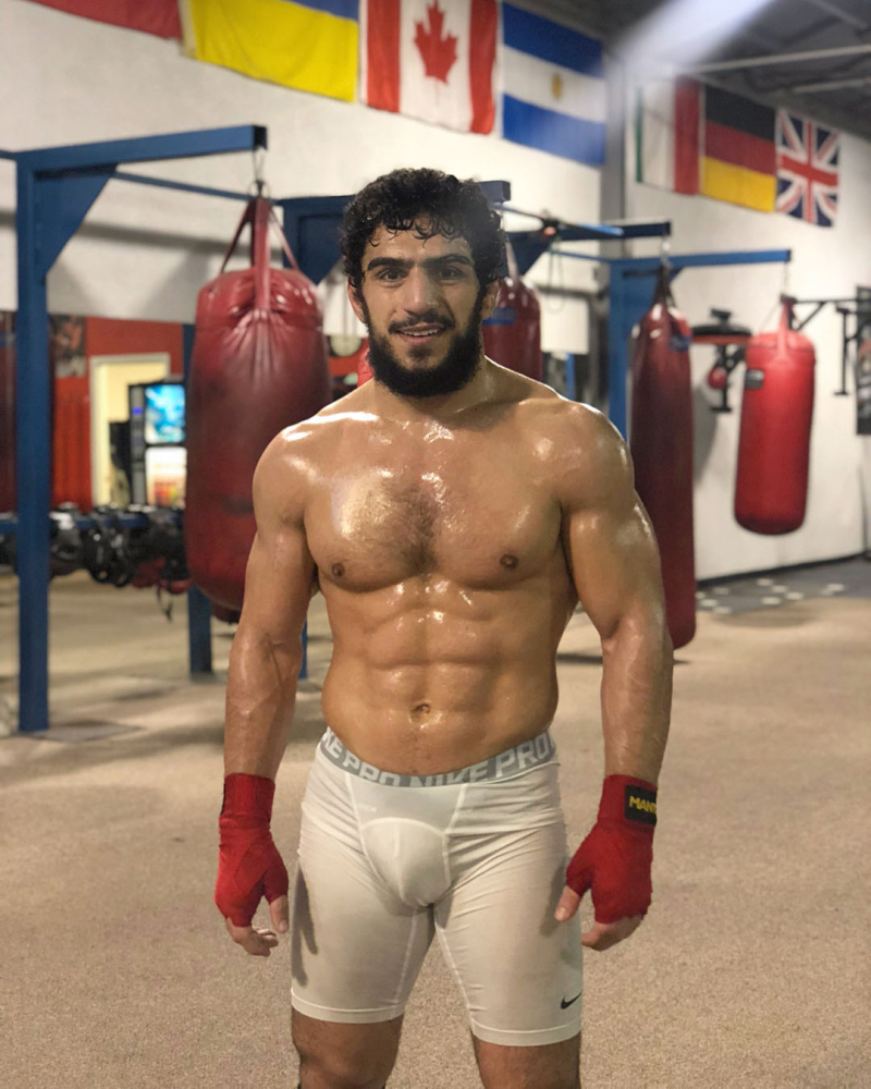 Boxer muscles underwear