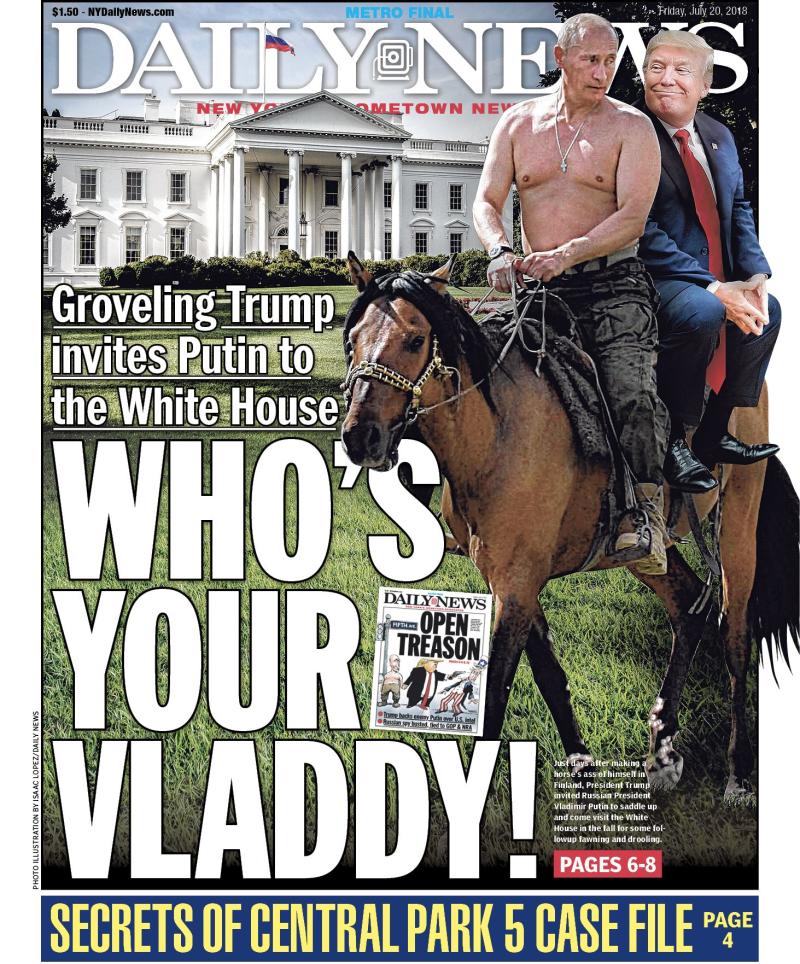 Putin Trump Vladdy NYDN