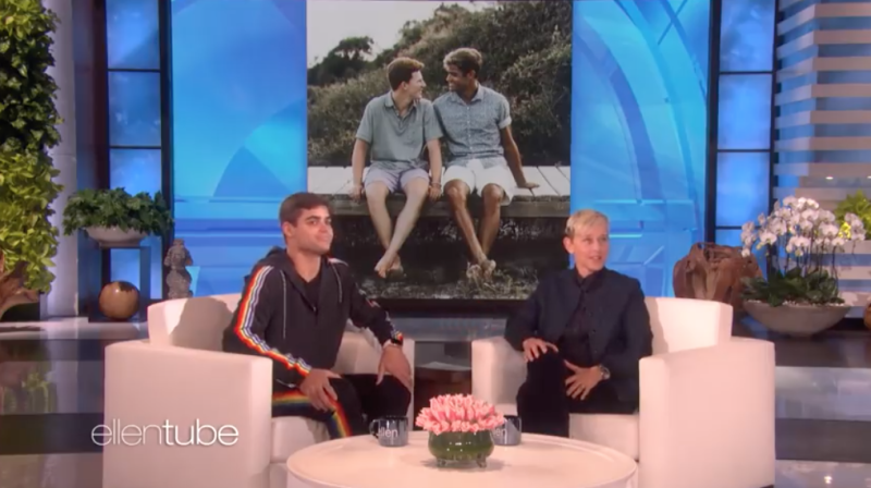 Jake Bain Ellen DeGeneres gay
