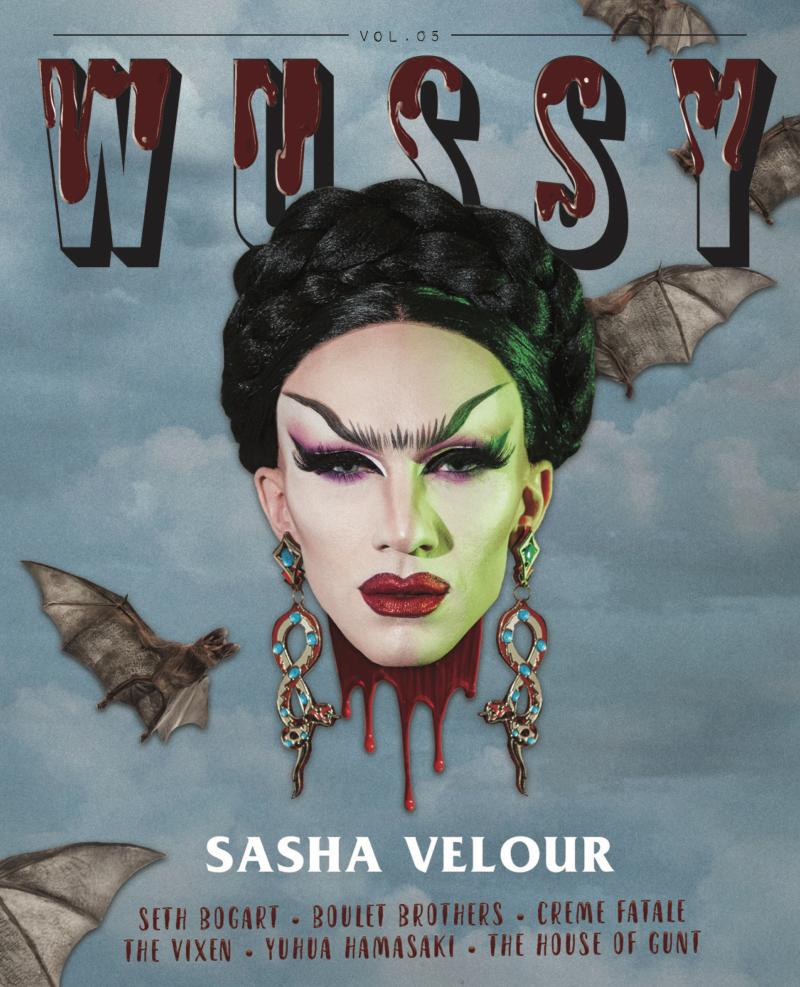 WUSSY vol. 5 cover Sasha Velour