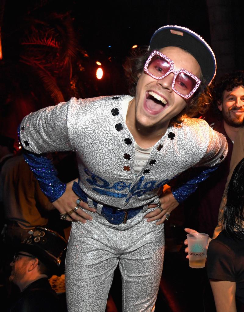 Harry Styles attends Casamigos Halloween party in Beverly Hills