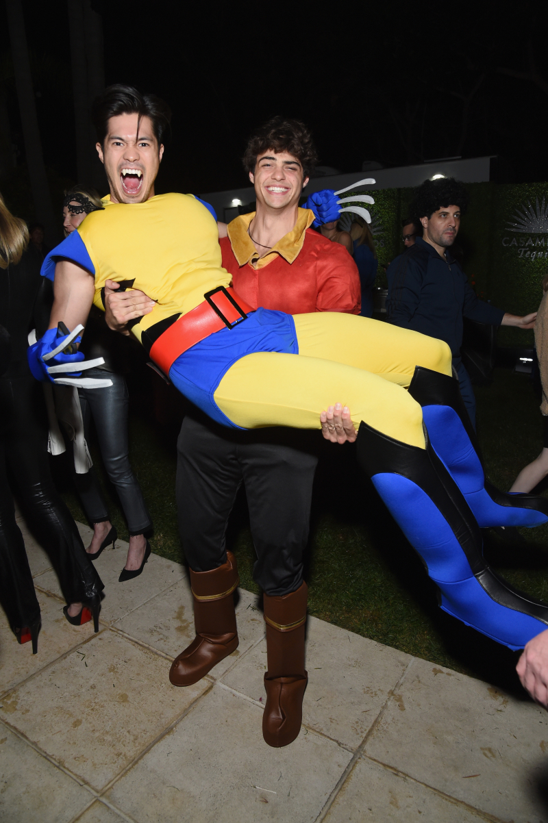 Ross Butler and Noah Centineo attend Casamigos Halloween party in Beverly Hills