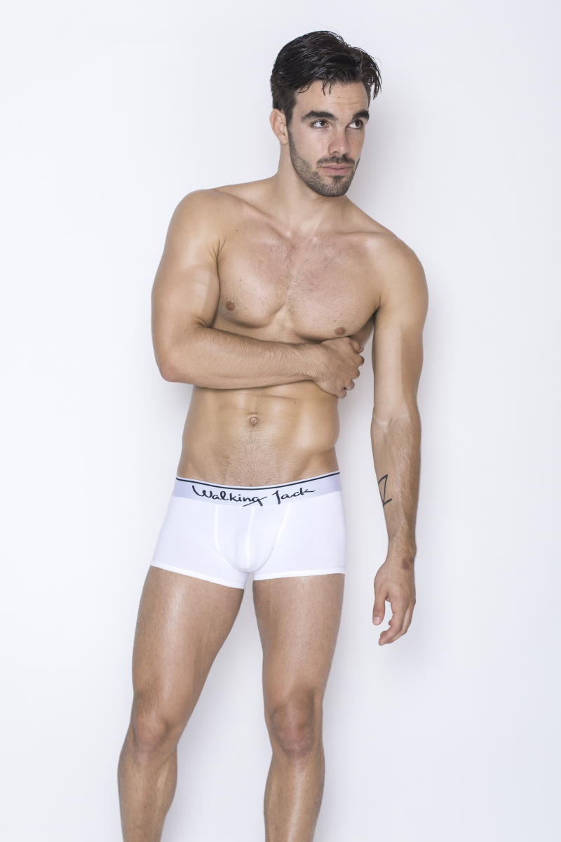 Walking Jack - underwear - Core Trunks - White_White - FR01 - LR