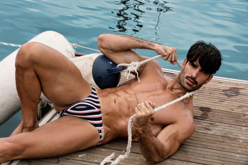 *Swimwear Marine Line Lifestyle Without Logo (10)