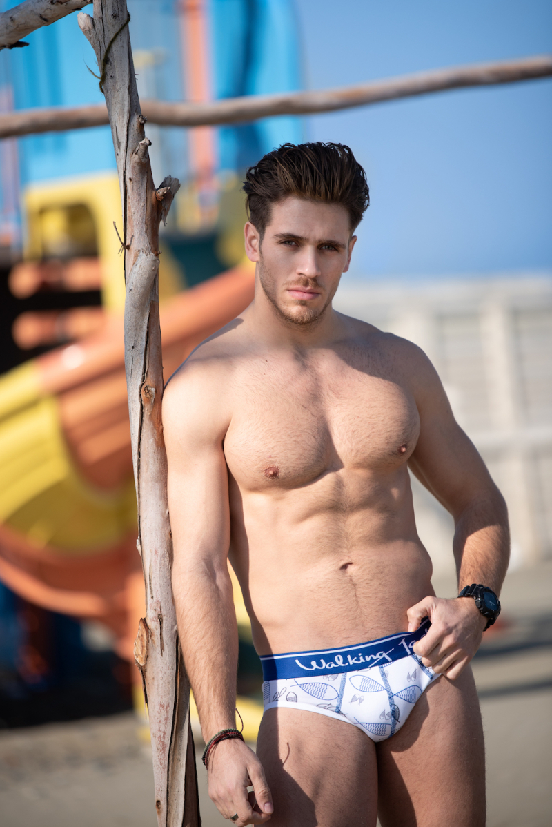 Walking Jack underwear - Andreas Petsides by Omega Fitness Photography 13