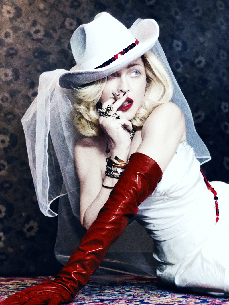 MADONNA MEDELLIN PRESS SHOT