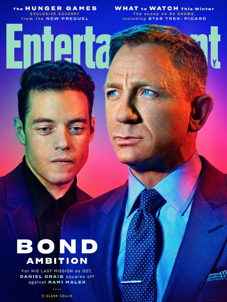 Rami Malek bond Daniel Craig